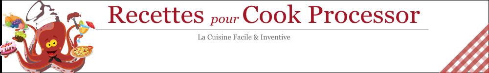 Recettes pour le Cook Processor de KitchenAid