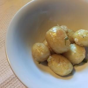 Pommes de terres de Noirmoutier au sel de Guérande (par Laury)