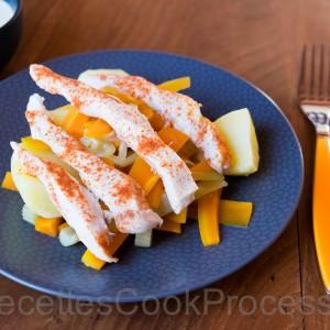 poulet recettes pour le cook processor de kitchenaid. Black Bedroom Furniture Sets. Home Design Ideas