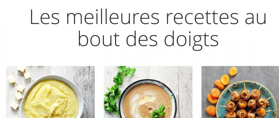 Nouvelles recettes corrigées bientôt sur le site KitchenAid