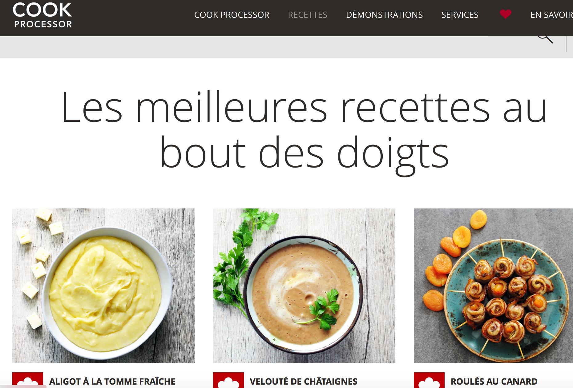 Nouvelles recettes corrig es bient t sur le site kitchenaid recettes pour le cook processor de - Livre de cuisine kitchenaid ...