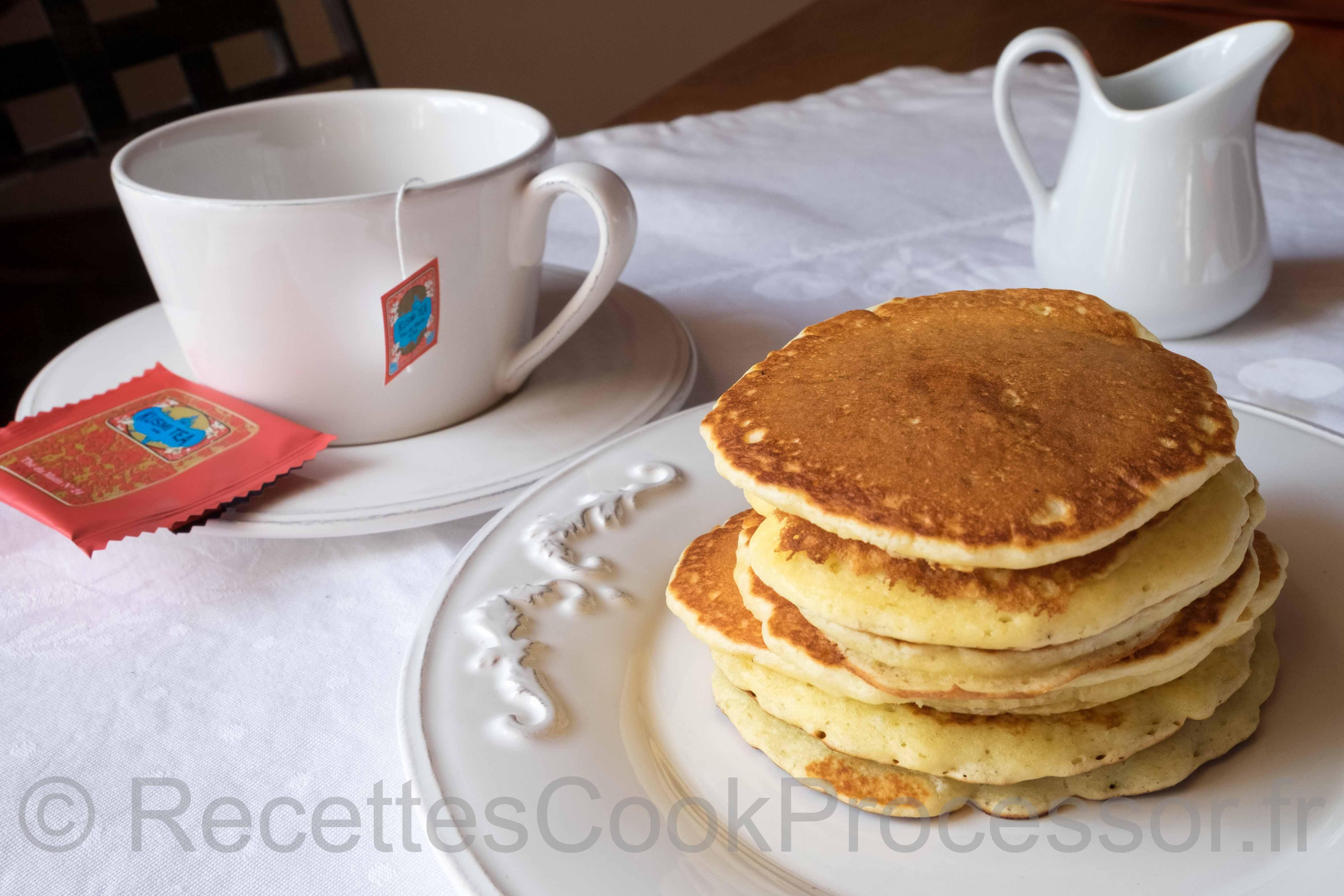 Pancake au Cook Processor de KitchenAid
