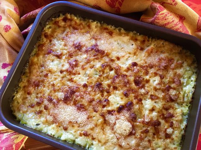 Gratin de poireaux et parmesan KitchenAid Cook Processo