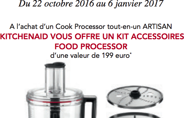 Promotion KitchenAid Noel 2016