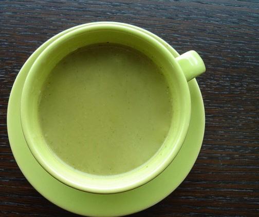Velouté de chou vert au Cook Processor de KitchenAid