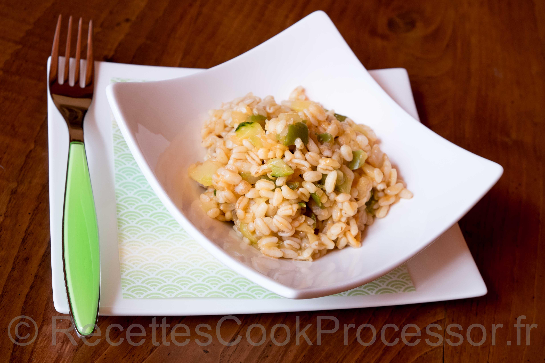 Ble aux legumes Cook Processor KitchenAid