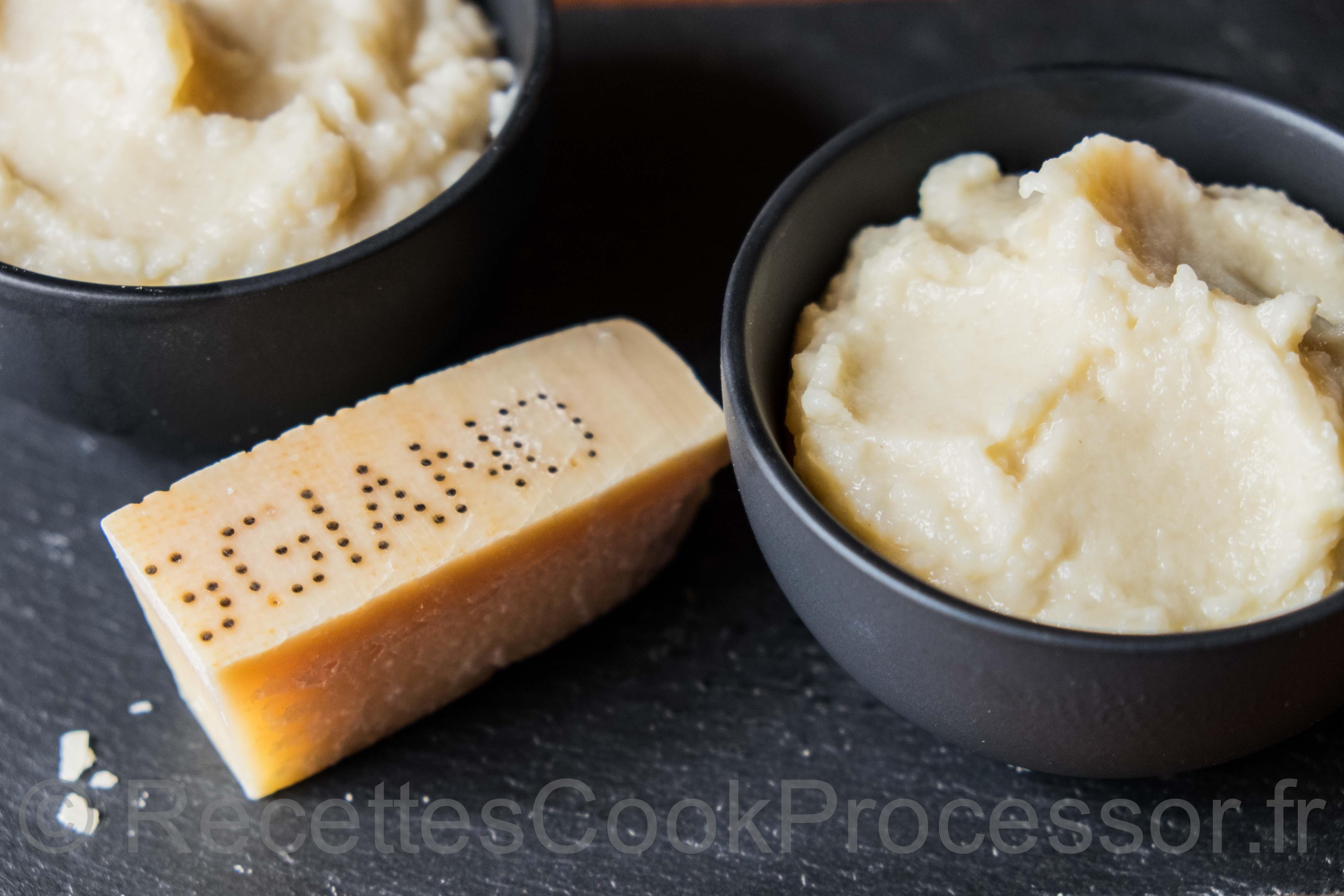 Purée de ChouFleur au Cook Processor de KitchenAid
