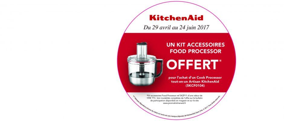 Promotions KitchenAid mai 2017
