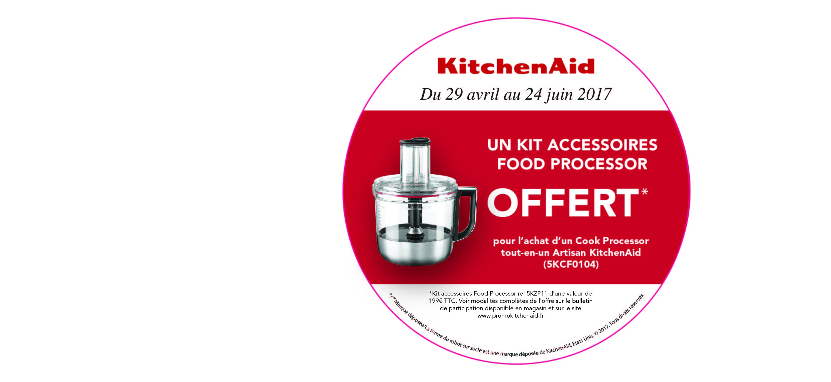 Promotions kitchenaid mai 2017 recettes pour le cook processor de kitchenaid - Recette kitchenaid cook processor ...