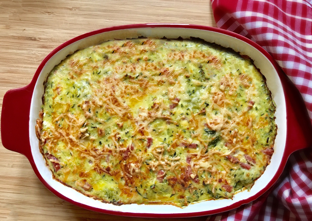 Gratin de Courgettes au Cook Processor KitchenAid