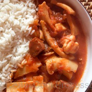 Ragout Encornet chorizo Cook Processor KitchenAId