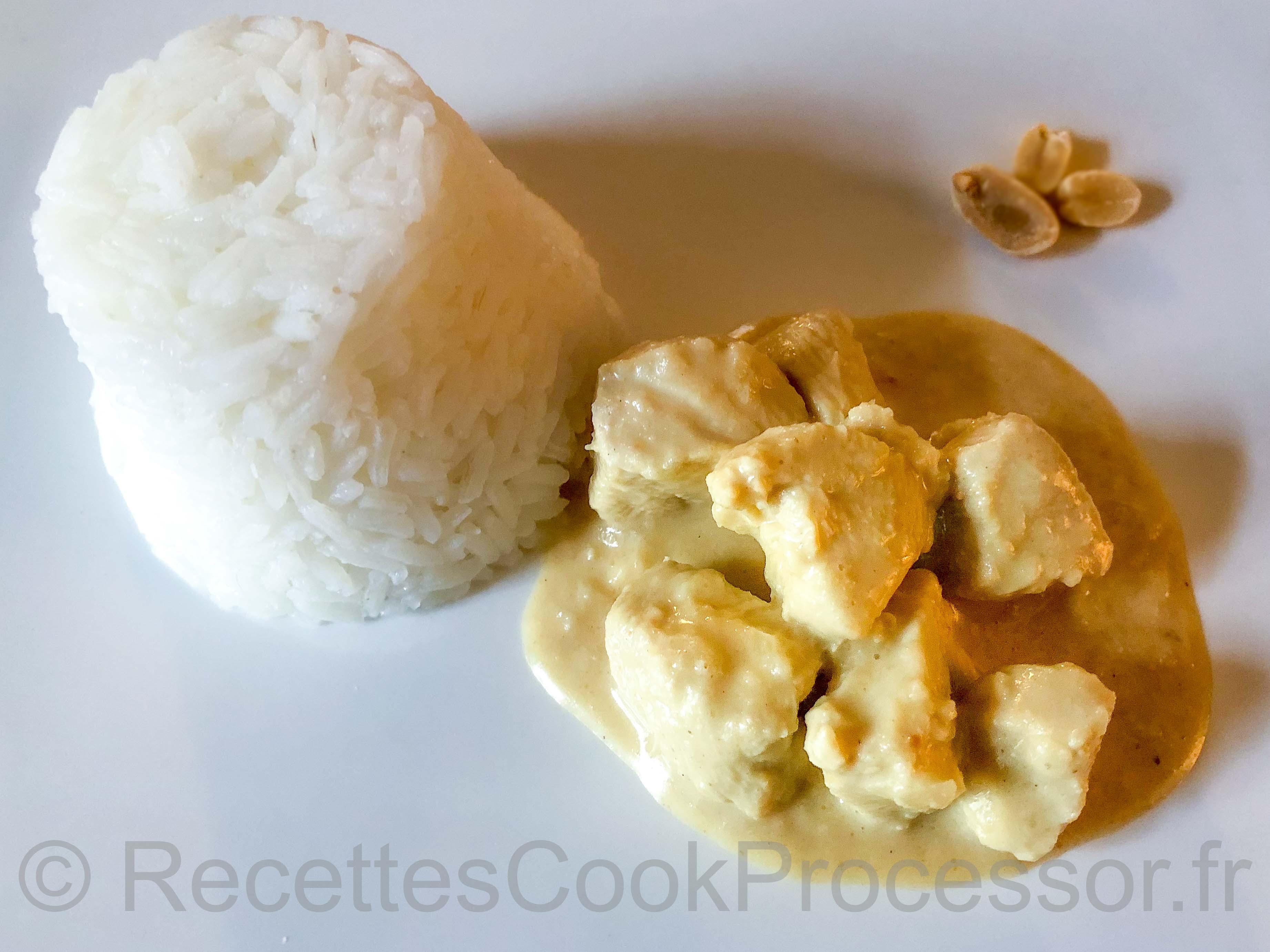 Poulet aux cacahuètes