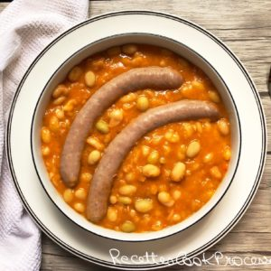 Ragout de saucisses au Cook Processor KitchenAid